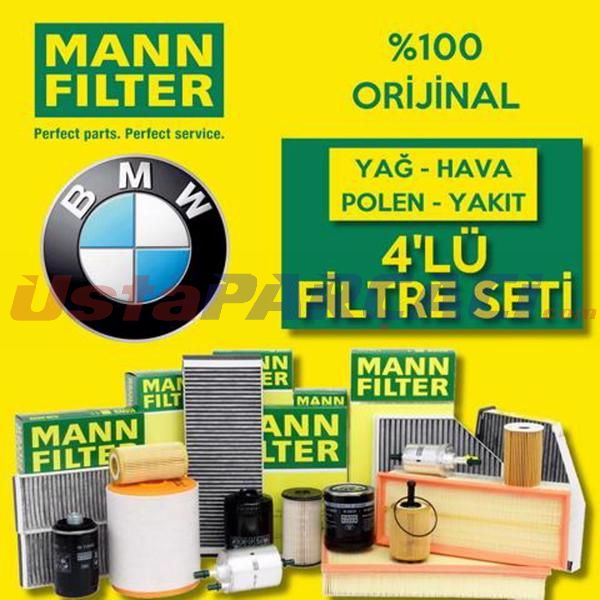 Bmw 3.20 D Mann-filter Filtre Bakım Seti (e90 2006-2012) UP463713 MANN