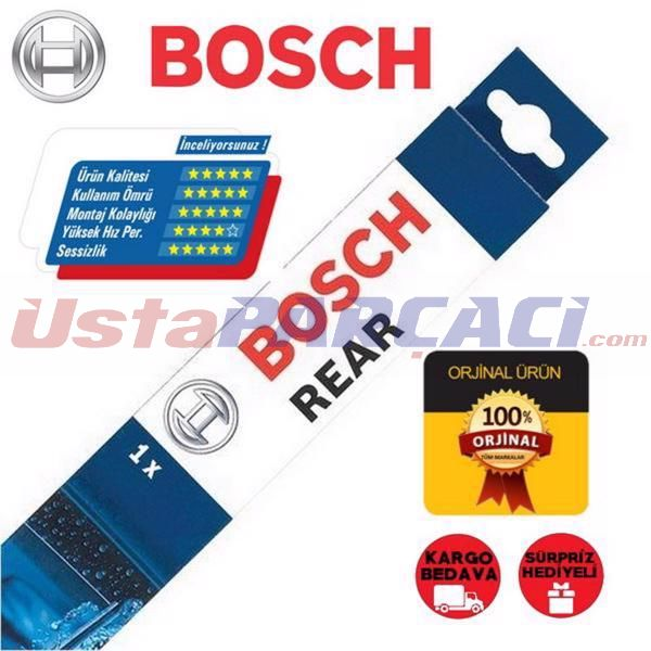 Citroen C4 Grand Picasso Arka Silecek (2006-2013) Bosch Rear H351 UP307046 BOSCH