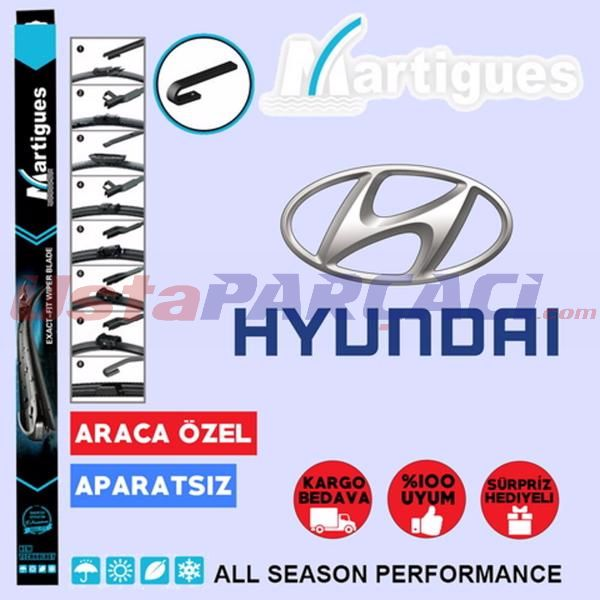 Hyundai Accent Muz Silecek Takımı (2006-2011) MARTIGUES Marka