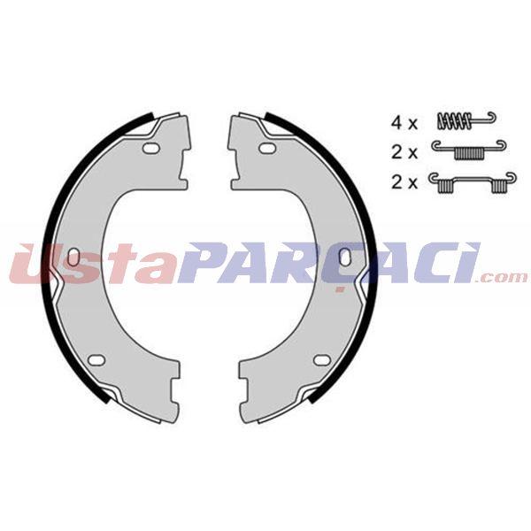El Fren Balatası Sprınter Crafter 09> AUTOTECH PB4115.1 AUTOTECH