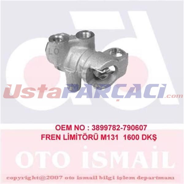 Fren Limitörü M131 1600 Dkş 5924304-3899782-790607 5924304-3899782-790607 CIFAM 303007 CIFAM
