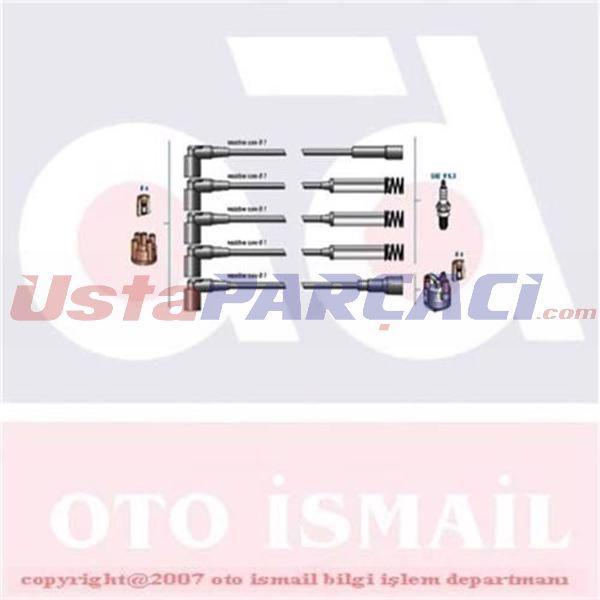Buji Kablo Tk Metal Tüplü Vectra A 1.8 İe 93-95) 1612558 KMP1 DODUCO 7808 DODUCO