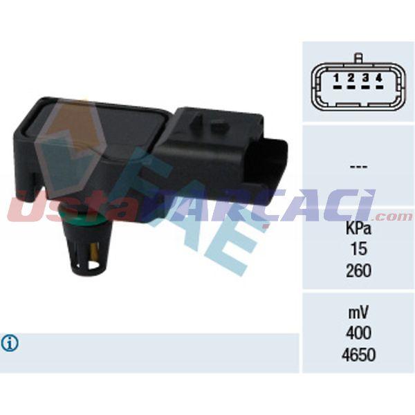 HAVA BASINC SENSORU DS5-C4-DS3-C4 PICASSO-C5 3-C4 II DS4-RCZ-P308-P3008-P5008 EP6CDT FAE 15075 FAE