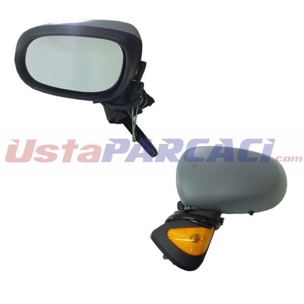 Dış Dikiz Aynası Mekanik Sağ Modus 04-08 Sinyalli+sensörlü+asferikli Vm-120sr 7701059146 7701059146 GVA 1014720 GVA