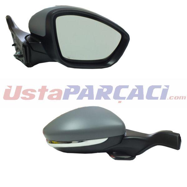 Dış Dikiz Aynası Elektrikli Sağ P208 13> Isıtmalı+sinyalli+sensör Astarlı Vm-509ehpsr GVA 1043285 GVA