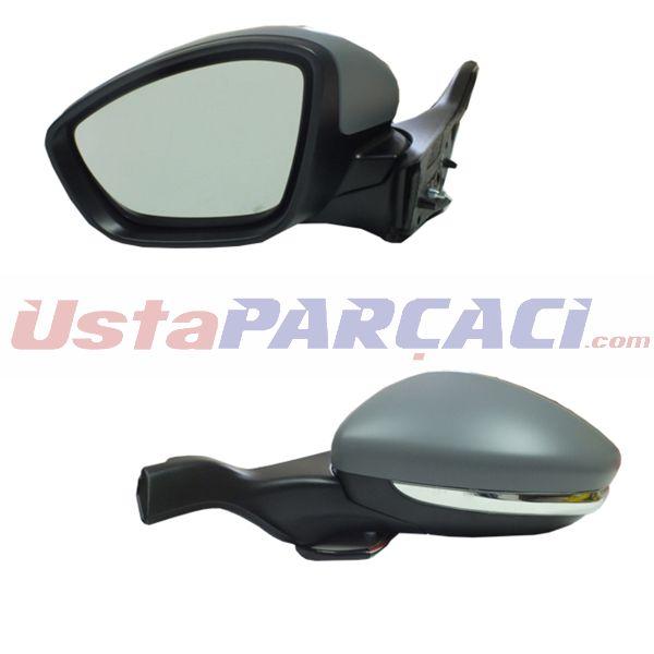 Dış Dikiz Aynası Elektrikli Sol P208 13> Isıtmalı+sinyalli Astarlı Vm-509ehpl GVA 1043286 GVA