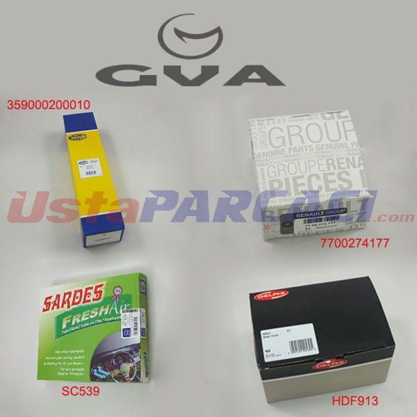 FİLTRE SETİ KNG 1.5 DCİ K9K 704 BCS-10) GVA 8516150 GVA