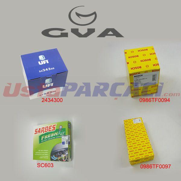 Filtre Seti Fıesta 01> P206 01> P307 01> Bıpper-nemo 08> Xsara 03-05 1.4hdı F6j Bcs-06) GVA 8537150 GVA