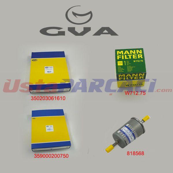 Filtre Seti Astra F 98>astra G 00>astra H 05>zafıra(00-05 1.4-1.6-1.8-2.0t-1.6 16v-1.8 16v Bcs-09) GVA 8590120 GVA