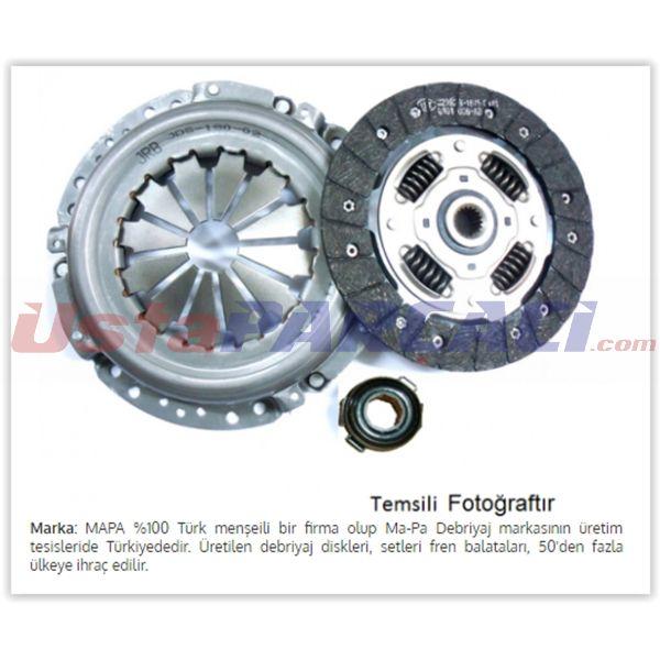 Debriyaj Seti Baskı+disk Renault Mgn 1.6   MAPA 003200309 MAPA