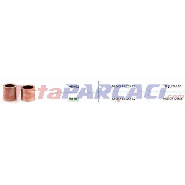Mars Burcu Takım Mako Tıpı M124-m131 ( 011 012 ) METIN 011-012