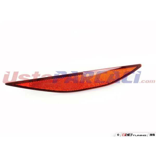 ARKA TAMPON REFLEKTORU (KEDI GOZU) SAG GOLF VII 14> PLASTECH P12241 PLASTECH