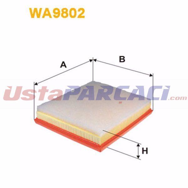 HAVA FILTRESI P208-P2008-P308 II-P5008-P3008 SUV-P508-C3 3-DS3-DS4-DS5-C4 CACTUS-C4 PICASSO 14->  SARDES SA2699 SARDES