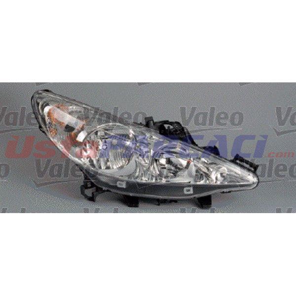 FAR SAG ELEKTRIKLI MOTORULU (H7+H7) P207 04/06-> VALEO 043239 VALEO