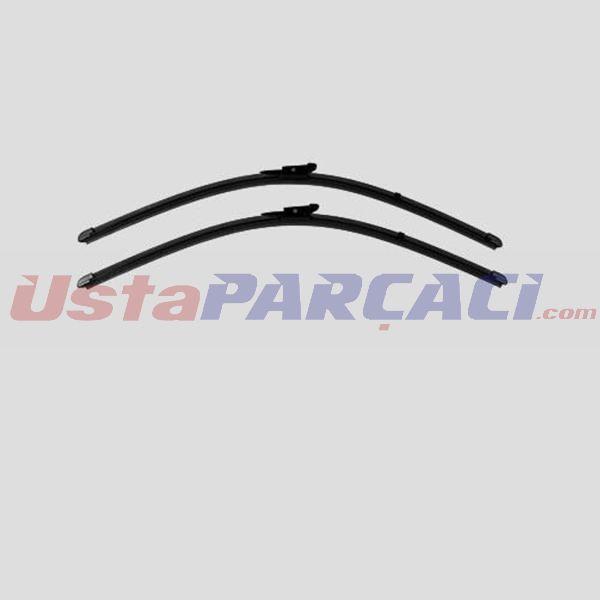 Silecek 60+55 X2 Flatblade-muz Tipi Bmw X5 E70 08=> X6 E71 08=> X6 E72 08=> 61610034741-61610034739 VALEO VALEO 119374 VALEO