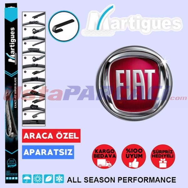Fiat Palio Muz Silecek Takımı (1998-2012) UP433426 MARTIGUES
