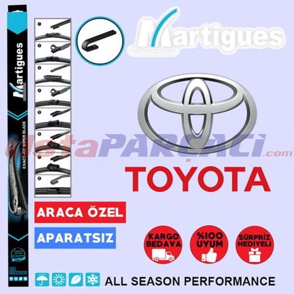Toyota Yaris Muz Silecek Takımı (1999-2005) UP433362 MARTIGUES