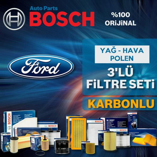 Ford Focus 1.6 Tdcı Bosch Filtre Bakım Seti E5 2011-2015 BOSCH Marka