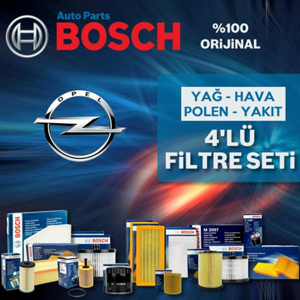 Opel Astra G 1.6i Twinport Bosch Filtre Bakım Seti 2004-2009 BOSCH Marka