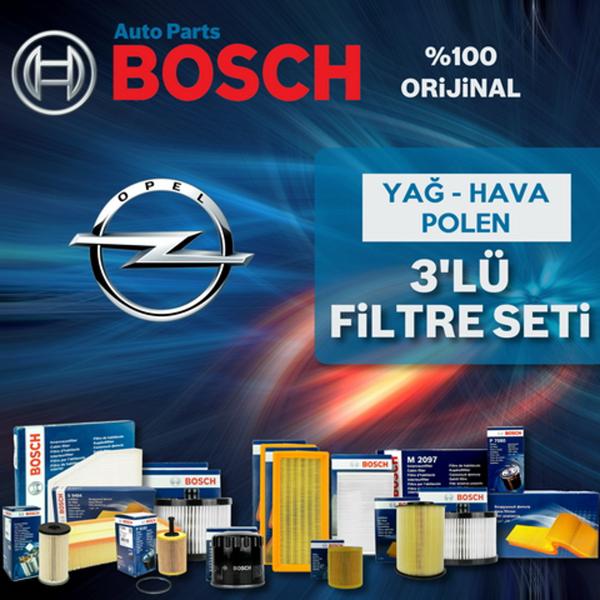 Opel Meriva A 1.6 Bosch Filtre Bakım Seti 2003-2006 BOSCH Marka