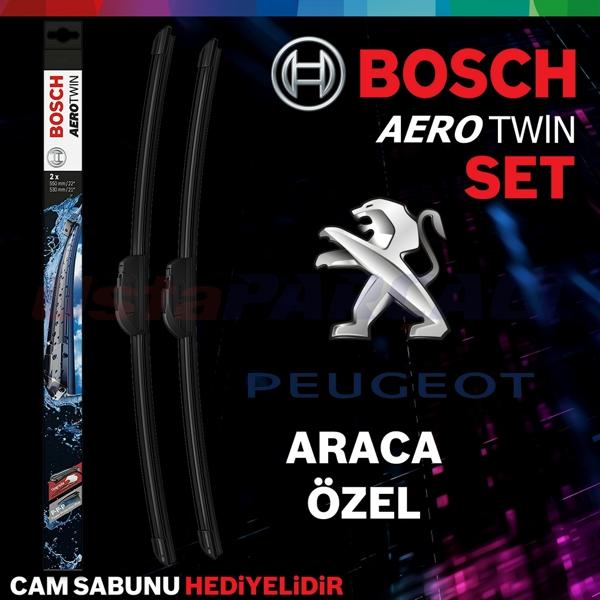 Peugeot 2008 Silecek Takımı 2013-2017 Bosch Aerotwin A414s BOSCH Marka