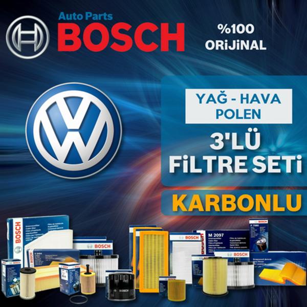Vw Jetta 1.6 Tdi Bosch Filtre Bakım Seti (2009-2010) UP582314 BOSCH