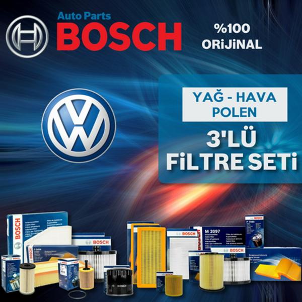 Vw Polo 1.4 Bosch Filtre Bakım Seti 2001-2008 Bud BOSCH Marka