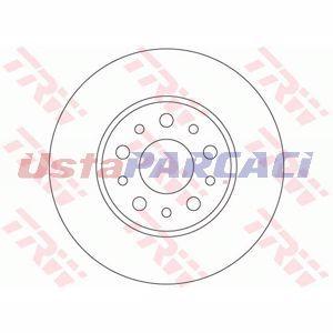 Fiat 500l 1.4 2012-2019 Trw Arka Fren Diski 2 Adet UP1186789 TRW