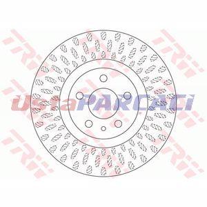 Fiat 500l 1.4 2012-2019 Trw Ön Fren Diski 2 Adet UP1176366 TRW
