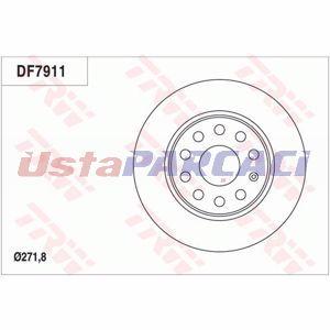 Vw Caddy Iv 2.0 Tdi 2015-2019 Trw Arka Fren Diski 2 Adet UP1273525 TRW