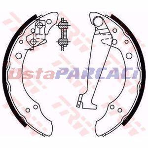 Seat Ibiza Ii 1.9 Sdi 1999-2002 Trw Arka Fren Balatası UP1293063 TRW
