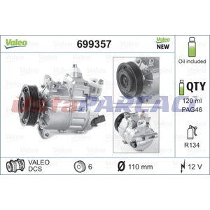 Vw Passat 2.0 Tdi 16v 4motion 2005-2010 Valeo Klima Kompresörü UP1125346 VALEO