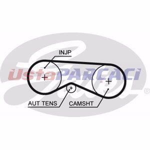 Audi Allroad 2.5 Tdi Quattro 2003-2005 Gates Triger Kayışı UP1130564 GATES
