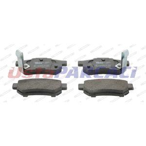 Honda Civic Vi 2.0 I Td 1997-2001 Ferodo Arka Fren Balatası UP1243902 FERODO