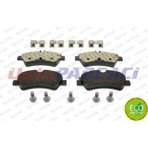 Ford Transit Custom 2.2 Tdci 2012-2019 Ferodo Arka Fren Balatası UP1268034 FERODO