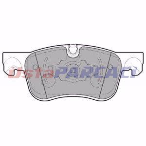 Citroen C4 Picasso Ii 1.6 Thp 165 2014-2019 Delphi Ön Fren Balatası UP1282254 DELPHI