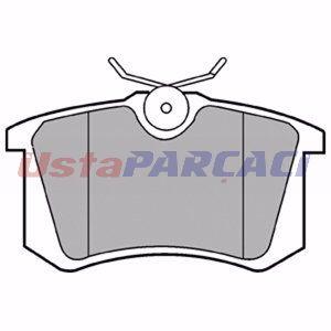 Audi A4 2.5 Tdi 1997-2000 Delphi Arka Fren Balatası UP1252393 DELPHI