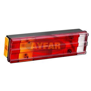 Stop Lambası 7 Fonksıyonlu Kanallı Plakalı Unıversal AYFAR ST 1009-5 AYFAR