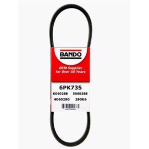 Kanallı Kayış Citroen Peugeot Vw  68344 BANDO 6PK735 BANDO