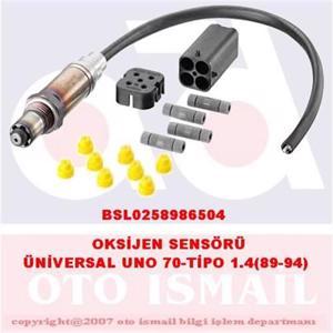 Oksijen Sensörü Unıversal Uno 70-tıpo 1,4(89-94) BOSCH 0258986504 BOSCH