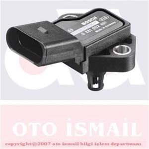 Turbo Basınç Sensörü T5 2,5 Tdi-polo 1,9 Tdi-passat 1,9-2,0 Tdi-jetta 2,0 Tdi-golf V 1,4-1,9 BOSCH 0281002401 BOSCH