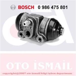Peugeot Boxer Minibüs 2.5 Tdi 1997-2002 Bosch Arka Fren Merkezi UP1127439 BOSCH