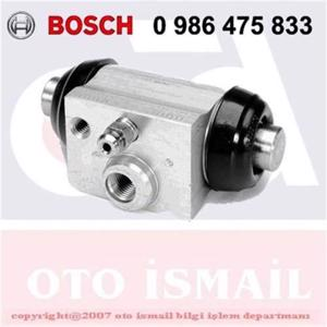 Citroen C3 Pluriel 1.4 Hdi 2004-2019 Bosch Arka Fren Merkezi UP1127477 BOSCH