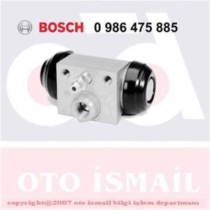 Fiat Punto 1.9 Jtd 2001-2012 Bosch Arka Fren Merkezi UP1127500 BOSCH