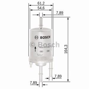Yakıt Filtresi Polo 05-)-cordoba 02-09)-ıbıza Iv 02-09 1,2-1,4 16v-1,6 2,0 3 Bar) BOSCH F026403008 BOSCH