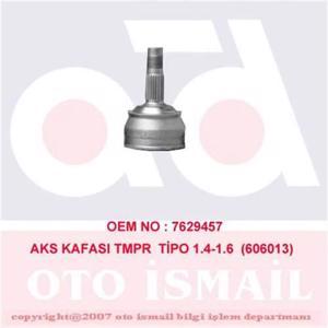 Aks Kafası Dış Tmpr-tıpo 1.4-1.6 Körüksüz 150013) CIFAM 606013 CIFAM