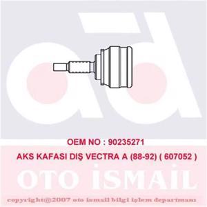 Aks Kafası Dış Vectra A 88-95)-calıbra A 90-97)-kadett E 84-91 15-1052) CIFAM 607052 CIFAM