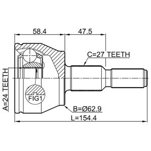 (x Aks Kafası Ford Cmax 3 1.6ti 10> -grand 1.6-1.6 Flexıfuel-focus Iv Ta 1.6ti 10> CIFAM 607752 CIFAM