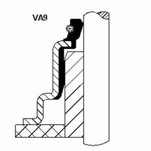 Subap Lastiği P406-xsara-xantia 1,8 16v-2,0 16v-p306 1,8 16v-2,0 (6x29x17,5) CORTECO 46023001 CORTECO