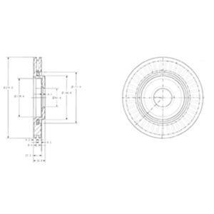 Ön Fren Aynası Berlingo Ym 01->p307 1,4-1,4 Hdi-p206 2a/c-1,6-2,0-partner 1,9d-p207-c3 1,4-1,4hdi-1 DELPHI BG3620 DELPHI